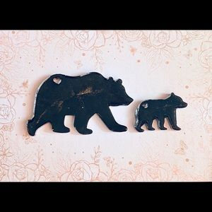 rlocraftsnmore Accessories - Mama and Baby Bear keychain
